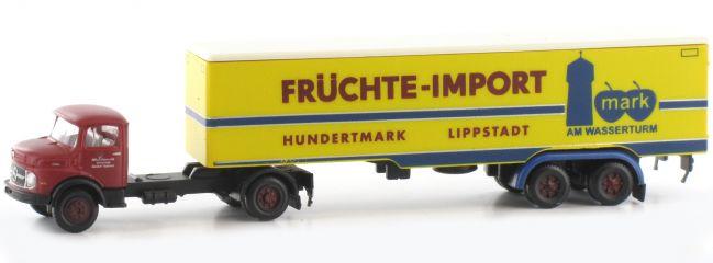 LEMKE LC3463 MB L322 Sattelzug Früchte Import   LKW-Modell 1:160