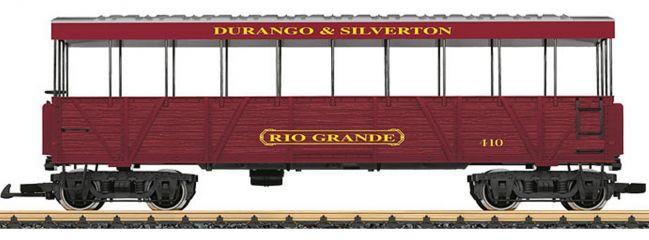 LGB 30261 Aussichtswagen Rio Grande D&S RR | Spur G
