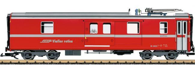 LGB 30692 Gepäckwagen mit Pantograph RhB | Spur G