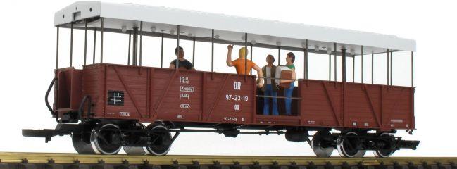 ausverkauft   LGB 33350 Offener Güterwagen mit Band   SOEG   mfx/DCC Sound   Spur G