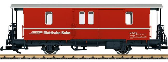 LGB 34554 Gepäckwagen D2 RhB | Spur G