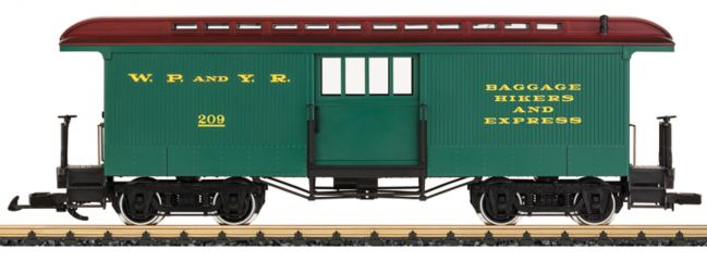 LGB 36846 Gepäckwagen | WP&YR | Spur G