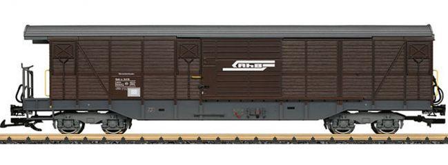 LGB 40083 Gedeckter Güterwagen Gak-v RhB | Spur G