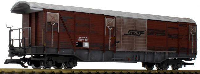 LGB 40084 Gedeckter Güterwagen Gak-v RhB | Spur G
