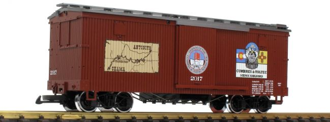 LGB 40671 Gedeckter Güterwagen Cumbres & Toltec RR | Spur G