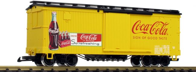 LGB 40672 Gedeckter Güterwagen Coca Cola | Spur G