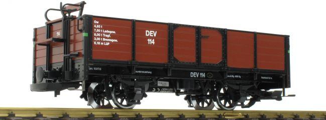 ausverkauft | LGB 41032 Offener Güterwagen DEV Museumsbahn Bruchhausen | Spur G