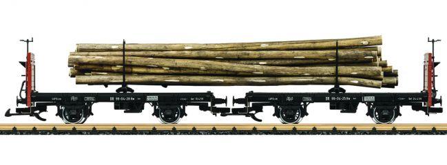 ausverkauft | LGB 41039 Drehschemelwagen-Set DR Spur G