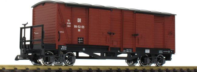 LGB 42639 Gedeckter Güterwagen DR | Spur G