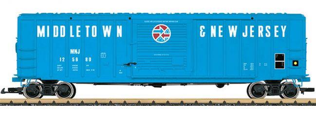 LGB 42933 Gedeckter Güterwagen MNJ | Spur G