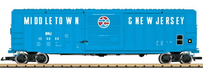 LGB 42934 Gedeckter Güterwagen MNJ   Spur G