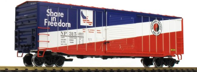 LGB 42937 Gedeckter Güterwagen NP | Spur G