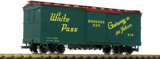 LGB 48675 Ged. Güterwagen White Pass Yukon | Spur G