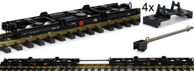 LGB 49181 Rollwagen-Set 2-tlg. HSB | Spur G