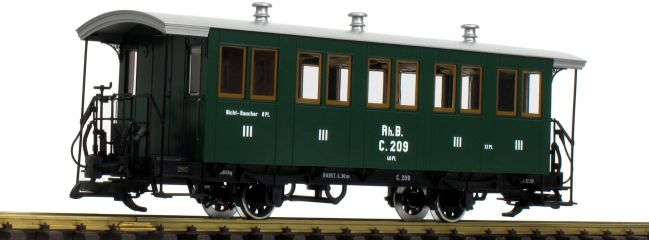 LGB L33402 Personenwagen 3.Kasse RhB | Spur G