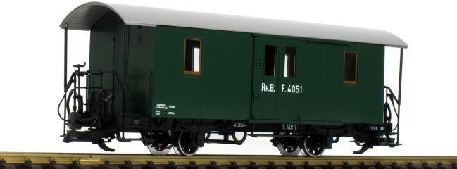 ausverkauft | LGB L33403 Gepäckwagen RhB | Spur G