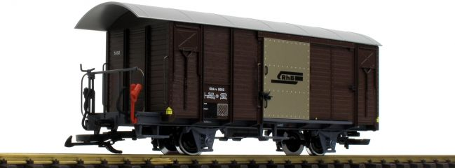 LGB L43813 Gedeckter Güterwagen RhB | Spur G