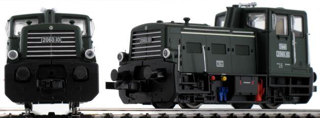 LILIPUT 132480 Rangier-Diesellok Rh 2060, grün ÖBB | DC analog | Spur H0