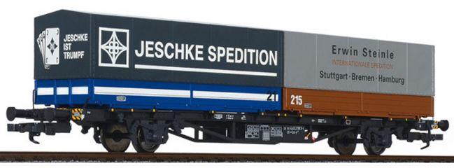 LILIPUT 235222 Containertragwagen Lss-y 571 JESCHKE/Steinle DB | DC | Spur H0