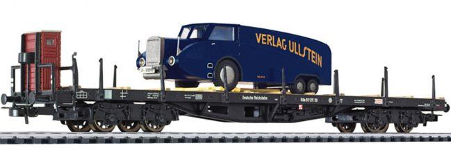 LILIPUT 235750 Flachwagen mit LKW DRG Spur H0
