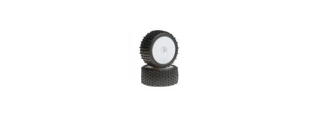 LRP 112550 Komplett-Räder Monster Block - S18 RMT/NM | 2 Stück