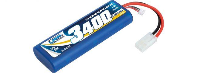 ausverkauft | LRP 430207 LiPo Akku Power Pack 3400mAh | 7.4V | 30C | Stickpack Hardcase