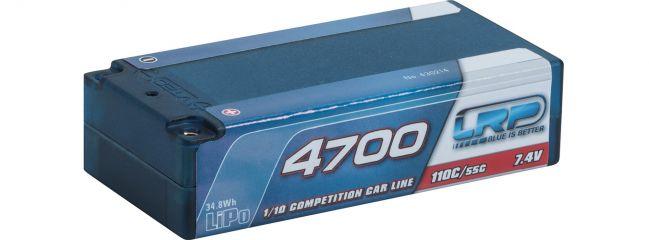 LRP 430214 LiPo Akku CCL Short SubC 4700mAh |  110C/55C |  7.4V | für RC Autos 1:10