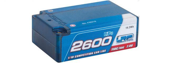 LRP 430218 LiPo Akku CCL Super Shorty | 2600mAh | 110C/55C | 7.4V