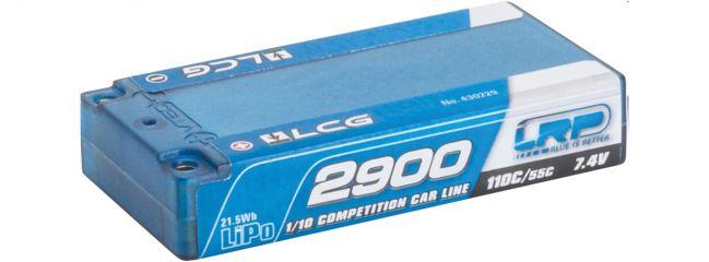LRP 430229 LiPo Akku LCG Shorty CCL Hardcase   2900mAh   110C/55C   7.4V