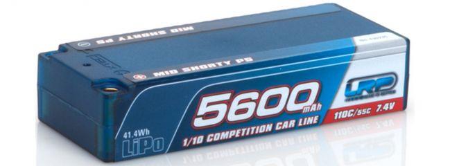 LRP 430235 LiPo Akku 5600mAh | TC Mid Shorty P5 | 110C/55C | 7.4V | Hardcase