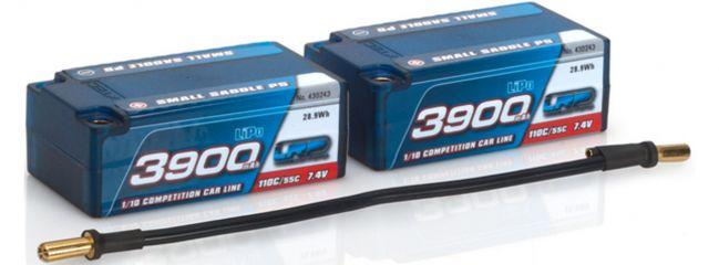 LRP 430243 LiPo Akku 3900mAh | Small Saddle P5 | 110C/55C | 7.4V | Hardcase