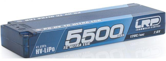 LRP 430252 LiPo Akku 5500mAh TC Ultra LCG Graphene | 7.6V | 2S | 120C/60C | P5-HV