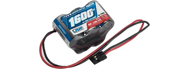 LRP 430601 Empfängerakku XTEC | Hump Pack | 1600 mAh | NiMH | JR-Stecker