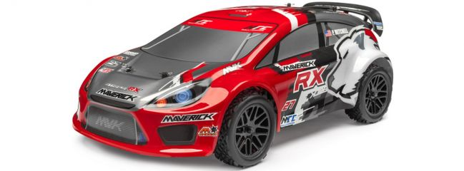 MAVERICK 12627 Strada RX Rally Car Rot Brushless | RC Auto RTR 1:10