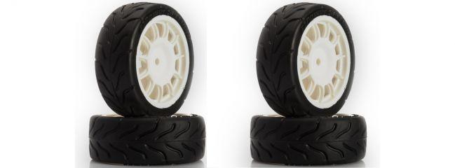 LRP TRL213 Räder-Set Fiat 500 (4Stk.) | für RC Autos 1:10