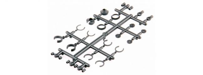 LRP 124022 Dämpfer Plastik Kleinteile Set - S10 Twister