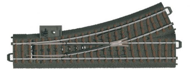 märklin 20611 Gleis Weiche links | 24,3 Grad | 188,3 mm | C-Gleis Spur H0