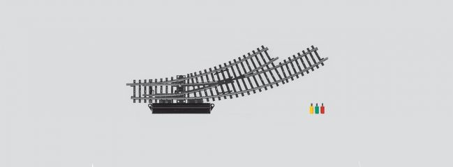 märklin 2268 Bogenweiche links | elektrisch | K-Gleis Spur H0