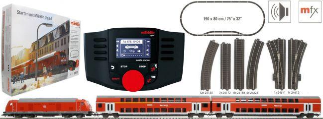 märklin 29479 Digital-Startpackung Regional Express DB AG | mfx Sound | Spur H0