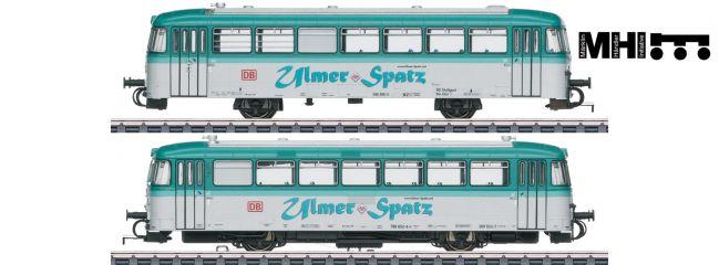märklin 39977 Schienenbus BR 798 Ulmer Spatz DB   MHI   mfx+ Sound   Spur H0