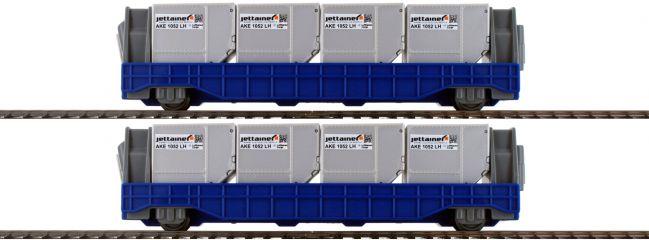 märklin 44117 my world Jettainer Wagen-Set Airport   Spur H0