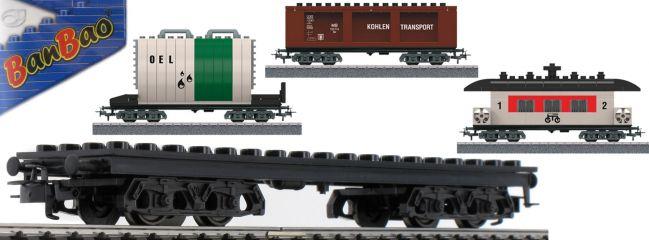 märklin 44736 Bausteinwagen-Set 3-tlg. mit 3 Baumöglichkeiten   Spur H0