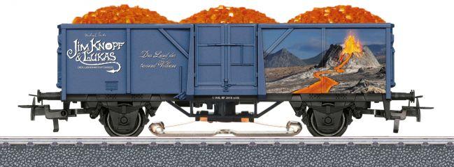 märklin 44818 Offener Güterwagen Jim Knopf Lavawagen | AC | Spur H0