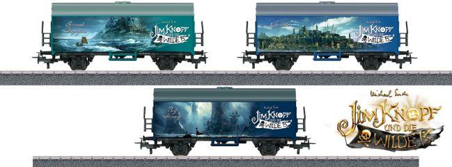 märklin 44821 Güterwagen-Set Verschiedene Länder Jim Knopf | Spur H0