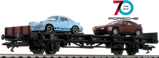 märklin 45054 Autotransport | 70 Jahre Porsche 4 | Spur H0