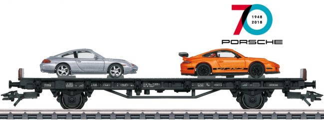 märklin 45057 Autotransport | 70 Jahre Porsche 7 | Spur H0