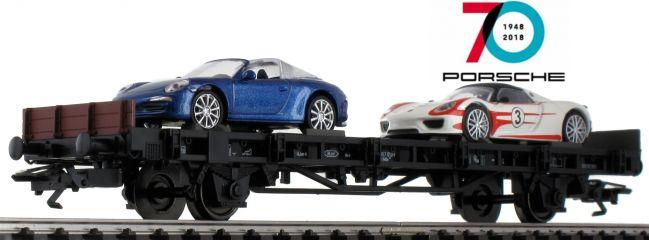 märklin 45058 Autotransport   70 Jahre Porsche 8   Spur H0