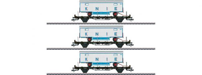 märklin 45085 Flachwagen-Set 3-tlg. SBB | 100 Jahre Circus Knie | Spur H0