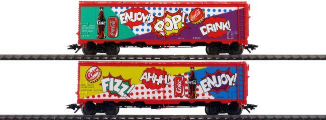 märklin 45685 2-tlg. US Kühlwagenset Coca Cola   AC   Spur H0