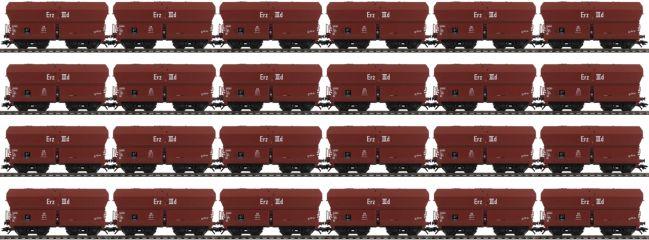 märklin 46210 24-tlg. Set Selbstentladewagen Erz IIId DB | Spur H0